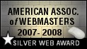 American Webmasters Association Award