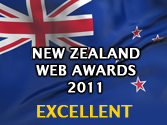 2011 New Zealand Web Award