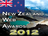 New Zealand 2012 Web Award
