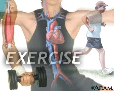 Exercise protects the heart