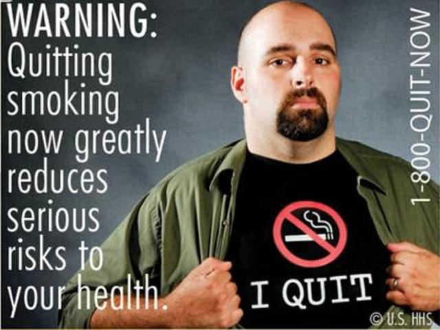 Exercise helps teen boys quit smoking