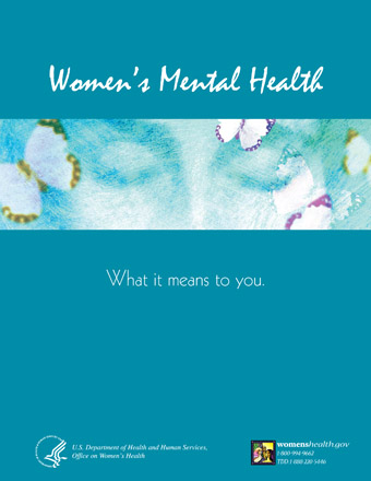 SAMHSHA Women's Mental Health