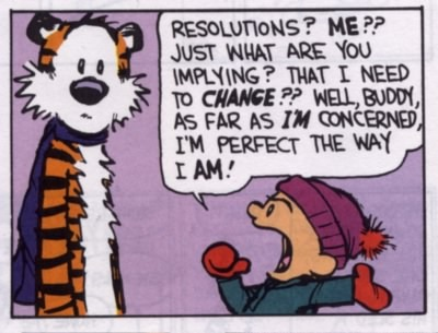 Calvin's resolutions