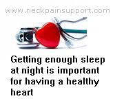 Sleep and the heart