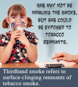 3rd hand smoke deadly as 1st hand smoke