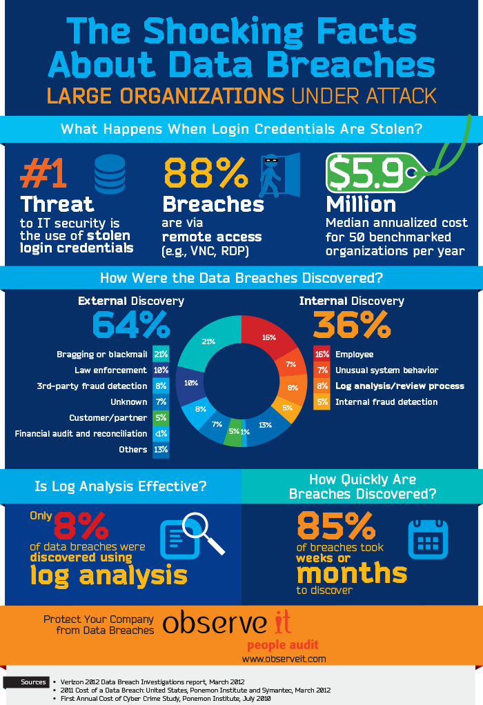 Data Breaches in Large Companies