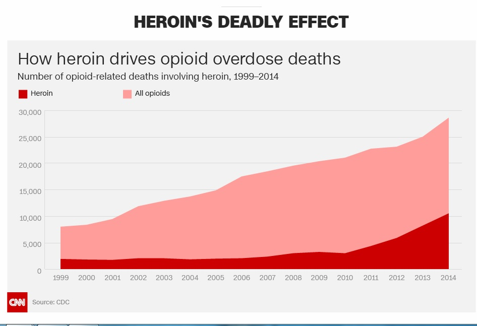 Heroin and Opioid Deaths