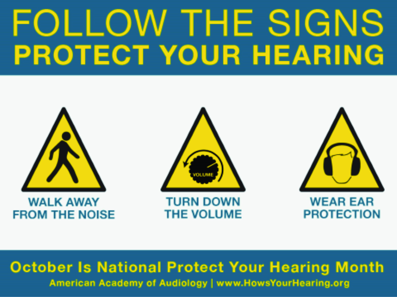 Protect your hearing month