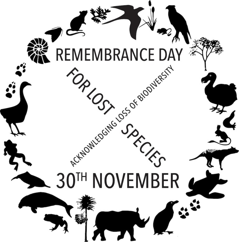 REMEMBRANCE DAY FOR LOST SPECIES