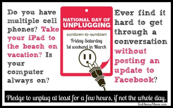 Unplug day