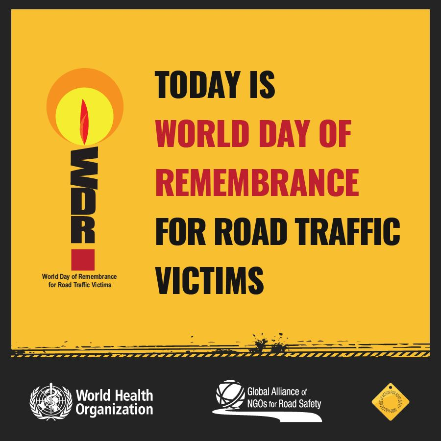 World Day of Remembrance for Traffic Victims