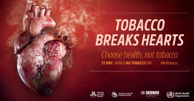 2018 World No Tobacco Day