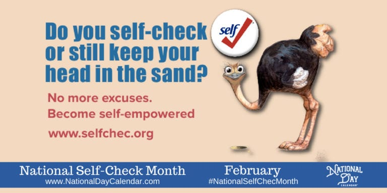 February is Self-Check Month
