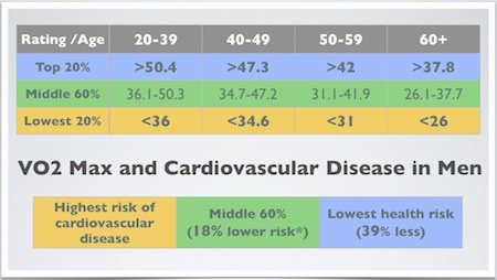 VO2 Max and CVD Risk
