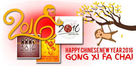 Happy Chinese New Yeark 2016