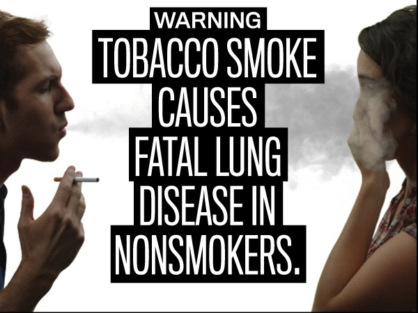 2nd Hand Smokes Causes Lung Disease in Non-smokers