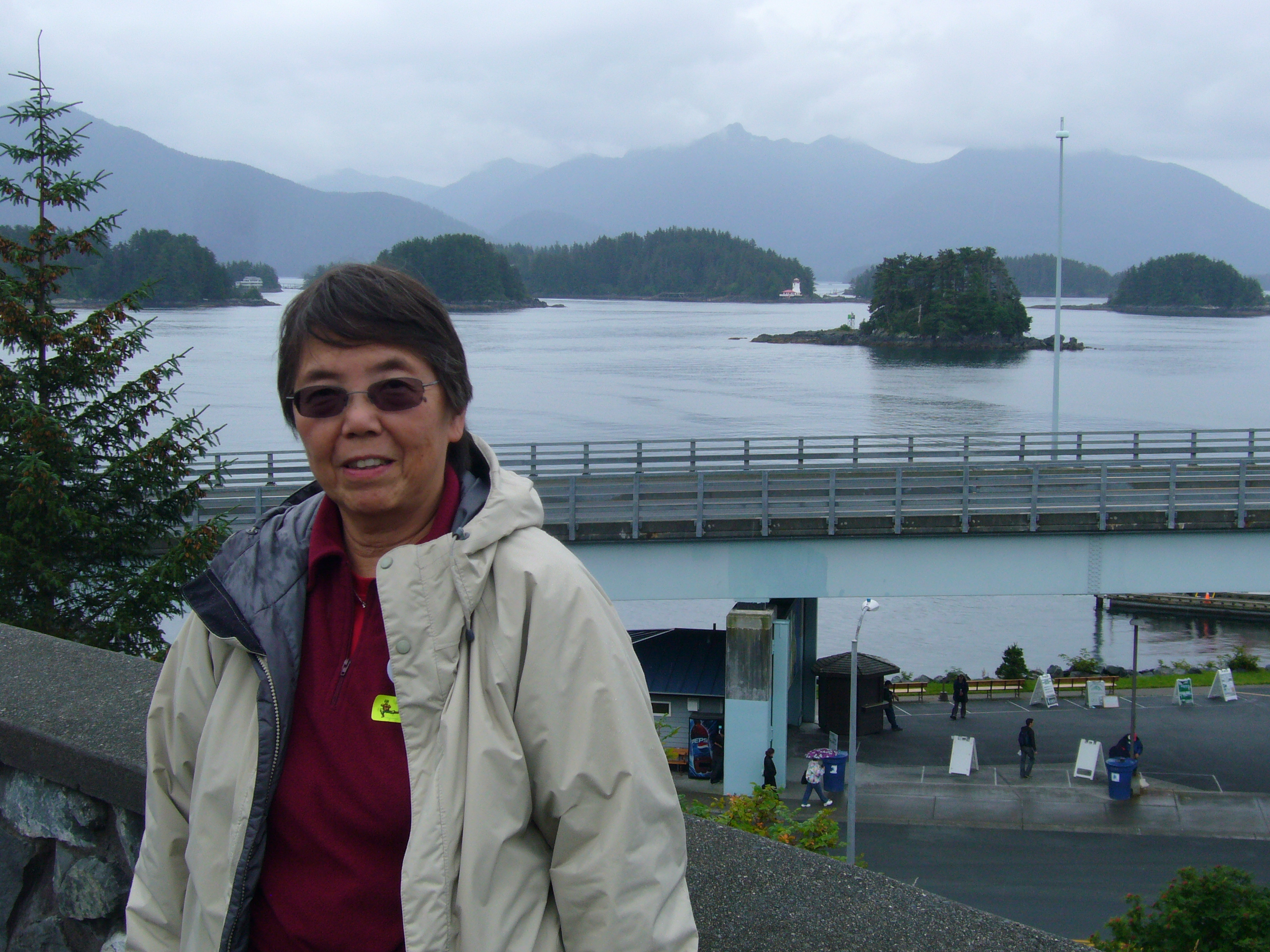 Betty at Sitka, Alaska, 8/11/2011